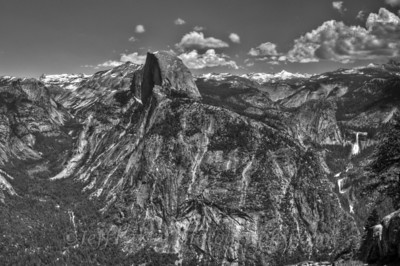 Yosemite Valley from Glacer Point with Half Dome