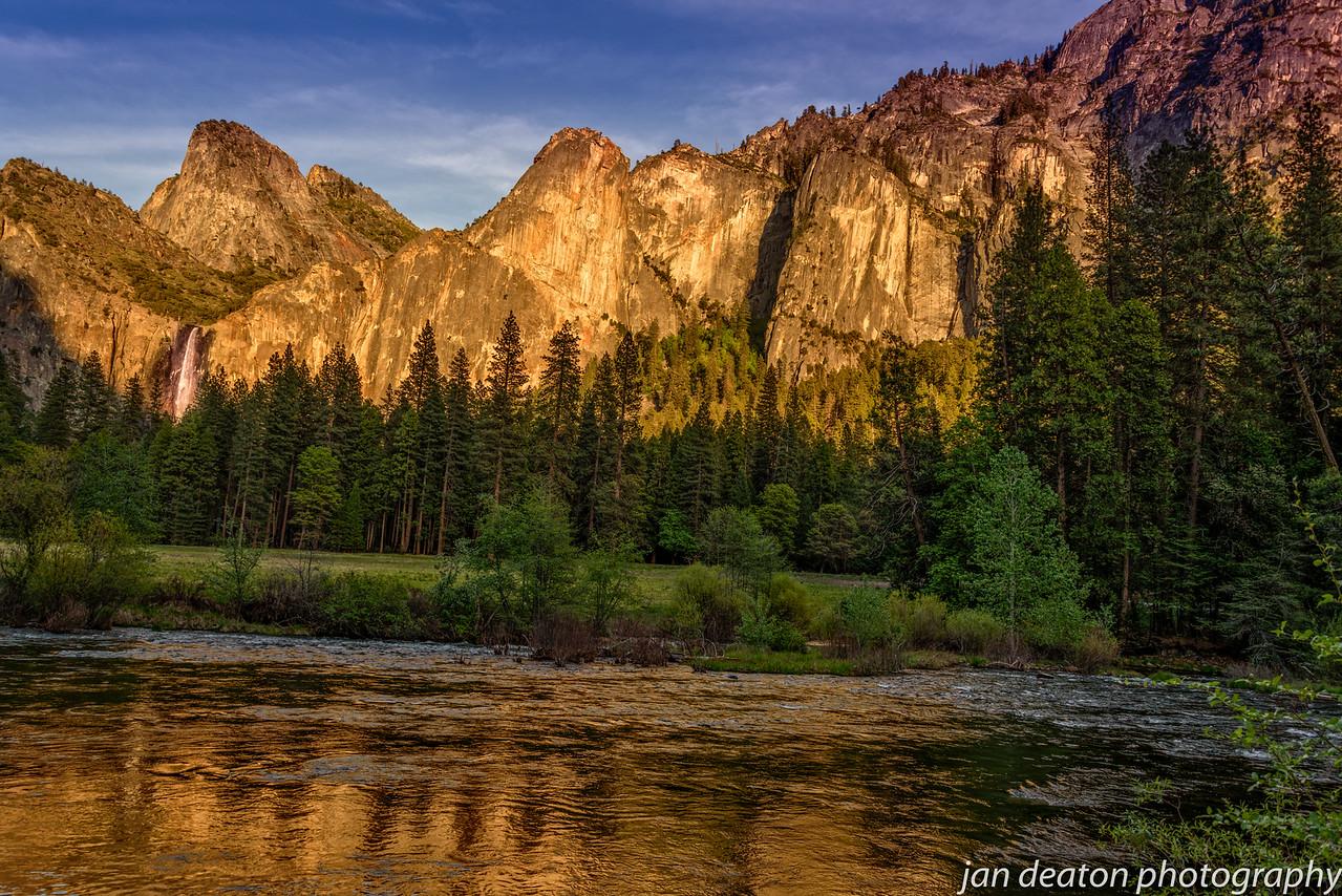 Shimmering Merced River