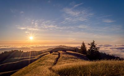 Mt Tam Sunset