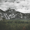 Clouds Pouring Over Half Dome