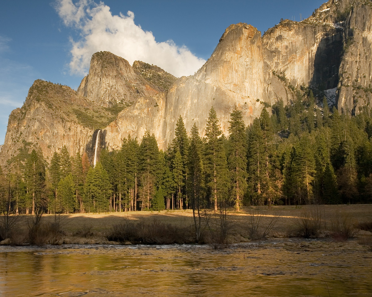 Bridalveil Falls at Yosemite View