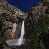 Moonbow, lower Yosemite Falls