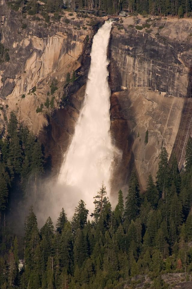 Nevada Falls from Glacier Point