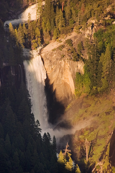 Vernal Falls From Glacier Point