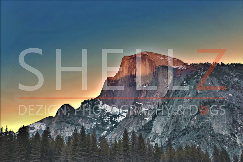 Inspired by Love - Half Dome, Yosemite