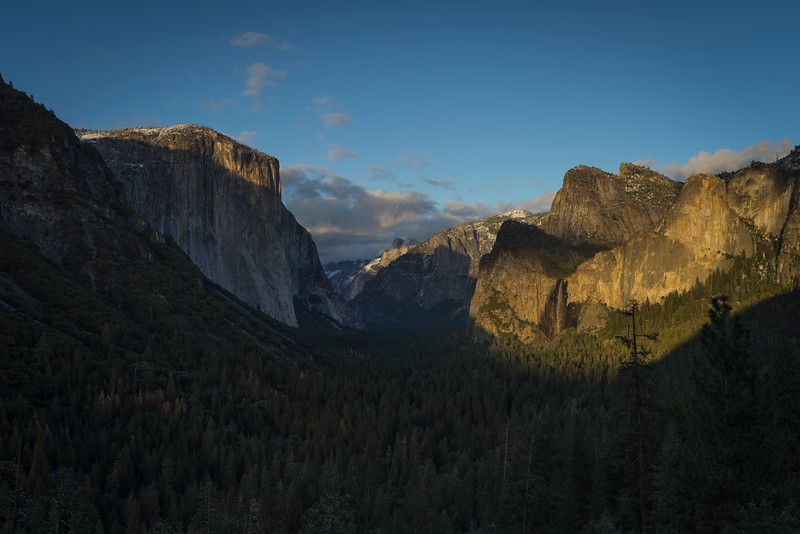 Sunset Tunnel View