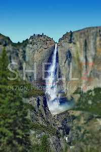 Yosemite Falls - Swinging Bridge