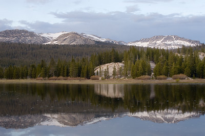 Tuolumne Meadows Before Sunset