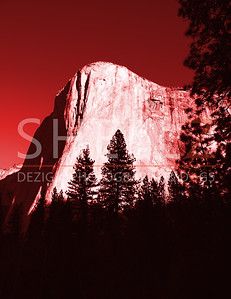 El Capitan Morning - Red