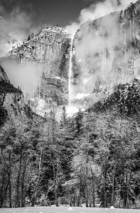 Yosemite Winter Fresh Snow! Half Dome, Yosemite Falls, Cook's Meadow! California 45Epic Dr. Elliot McGucken Fine Landscape and Nature Photography