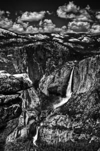 Yosemite Falls from Glacier Point
