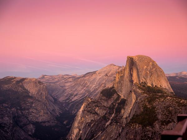 Half Dome after Sunset, Yosemite