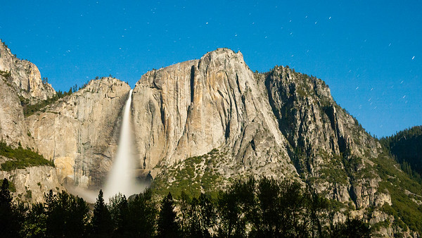Moonlit Yosemite Falls