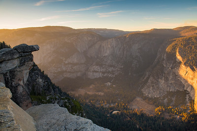Yosemite Valley at Sunset, from Glacier Point