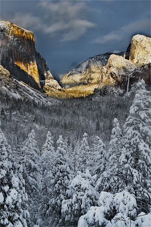 Winter Glaze, Yosemite Valley