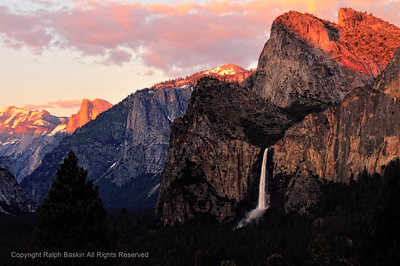 Bridalveil Sunset