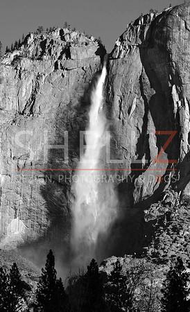 Snowmelt - Upper Yosemite Falls