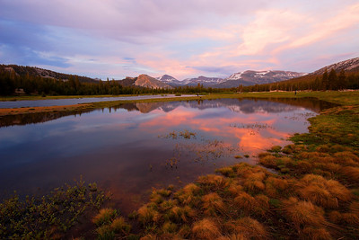 Dusk, Tuolumne Meadows Yosemite National Park California