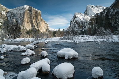 Valley View at Merced River