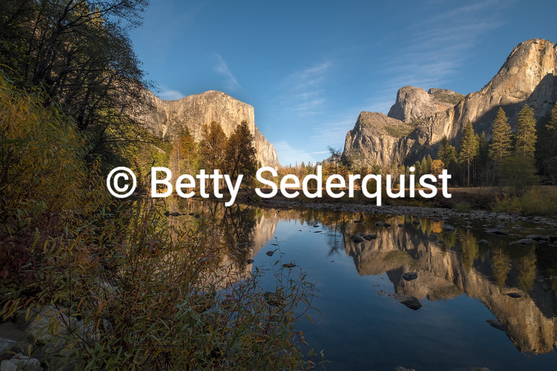 Afternoon Sun, Valley View, Yosemite