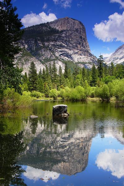 Mirror Lake, Afternoon Yosemite National Park California