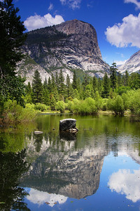 Mirror Lake, Afternoon Yosemite National Park California