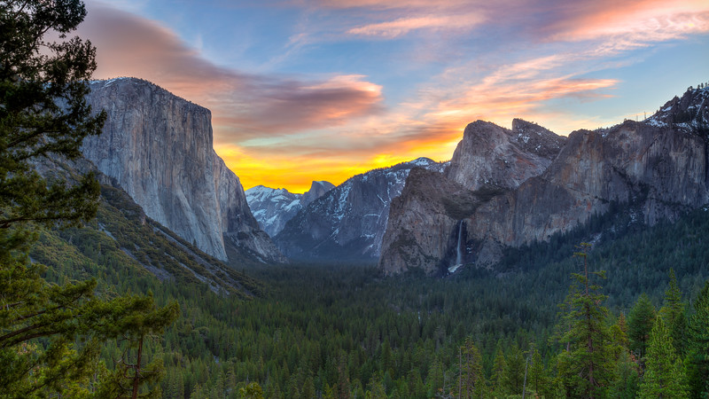 Yosemite - Morning Rise
