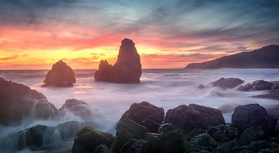 Rodeo Beach Sunset