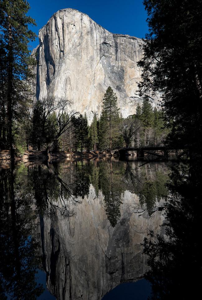 El Capitan's Reflection