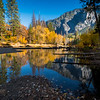 Merced River in Fall, Yosemite Valley