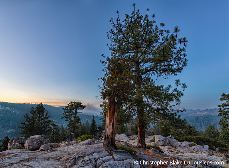 Olmsted Point Sunrise