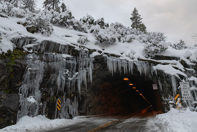 Icicle at Tunnel View