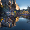 Morning Light on El Capitan and Merced River, Yosemite