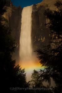 Bridalveil Fall rainbow