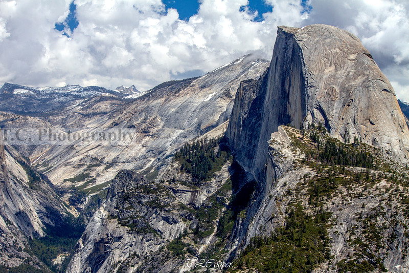 Half Dome in Yosemite N.P.