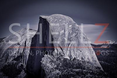 Mighty Half Dome - Yosemite National Park, CA