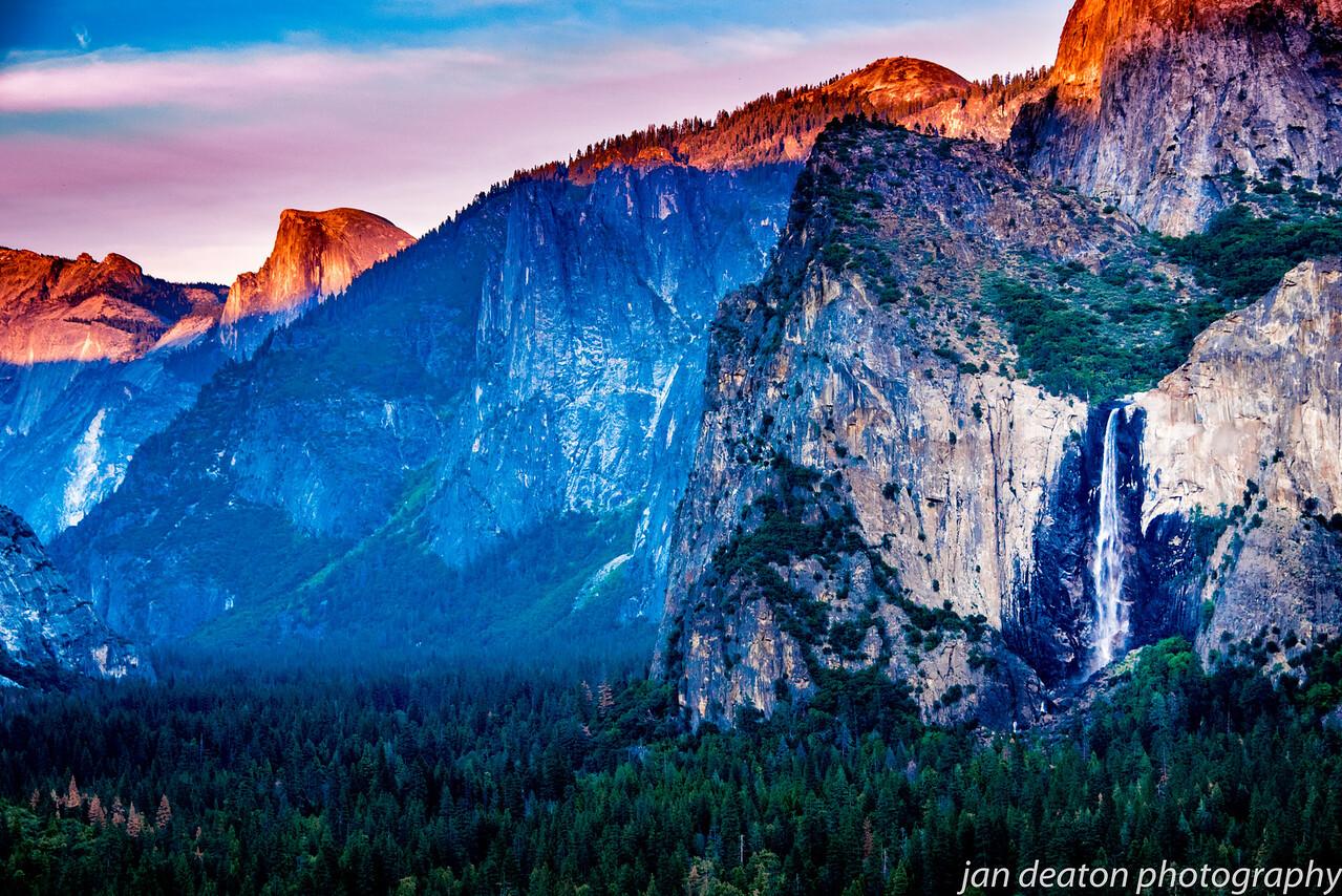 Yosemite Falls in Technicolor