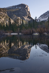 Mount Watkins at Mirror Lake