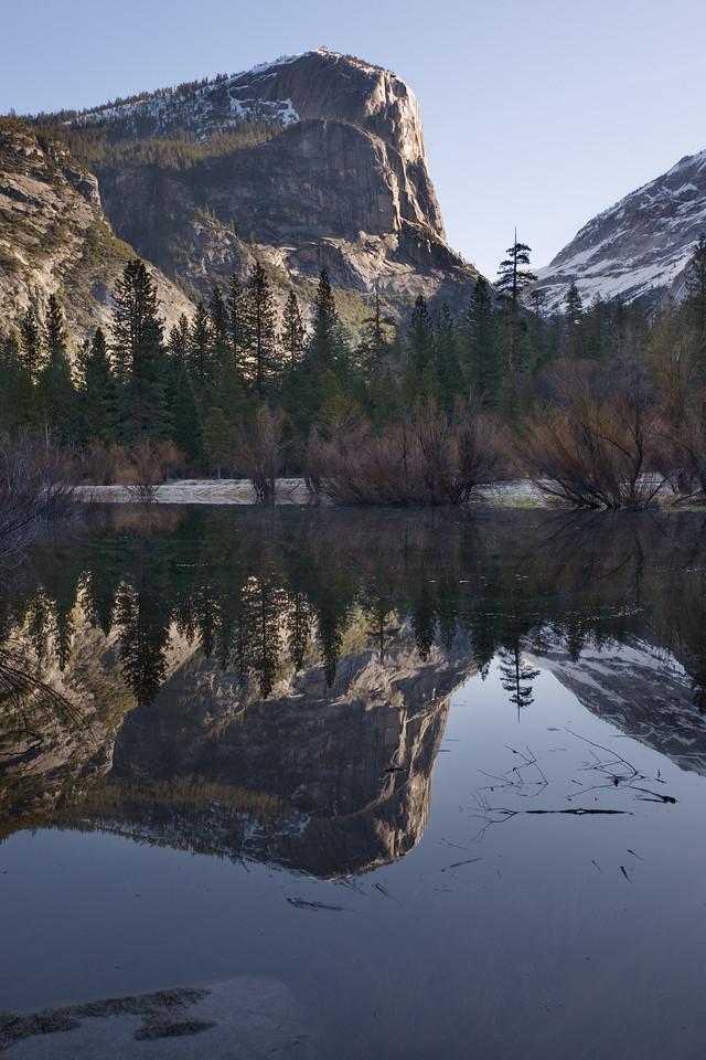Mount Watkins at Mirror Lake