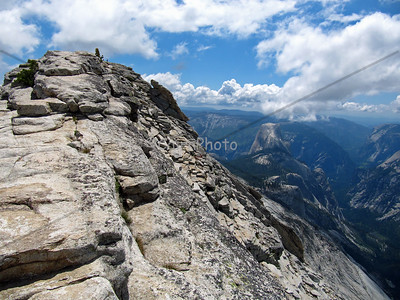Half Dome from Clouds Rest
