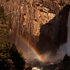Lower Yosemite Falls and Rainbow