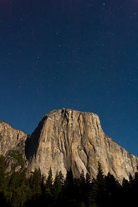 El Cap by Moonlight