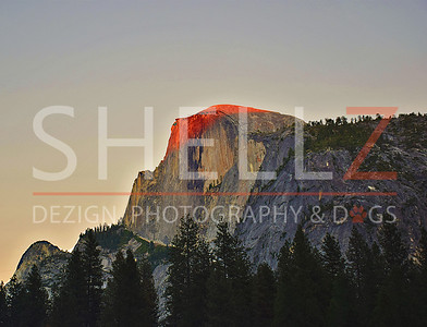 Half Dome - Sunset Kiss
