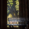 Glasses in the Elegant Dining Room at the Ahwahnee Hotel, Yosemite