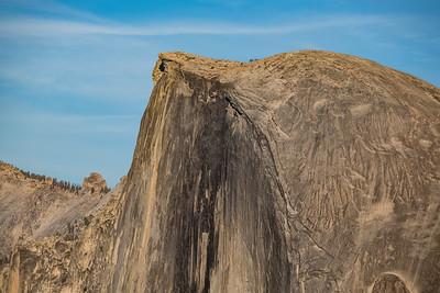 Half Dome Closeup, from Glacier Point, Yosemite