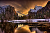 Valley View, Sunrise, Yosemite National Park