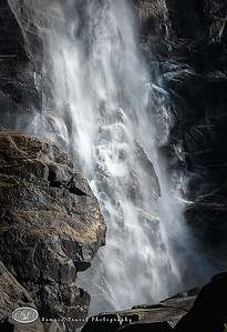 Bridal Veil Falls in Yosemite