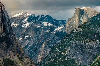 Iconic Half Dome from Tunnel View