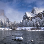 Yosemite Valley View, Winter