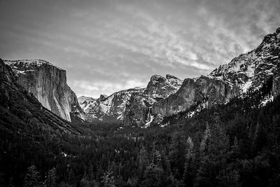 Yosemite Winter Fresh Snow! Bridalveil Falls! California 45Epic Dr. Elliot McGucken Fine Landscape and Nature Photography